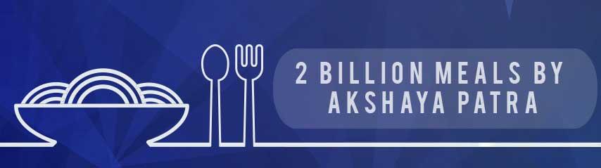 2 Billion Meals by Akshaya Patra