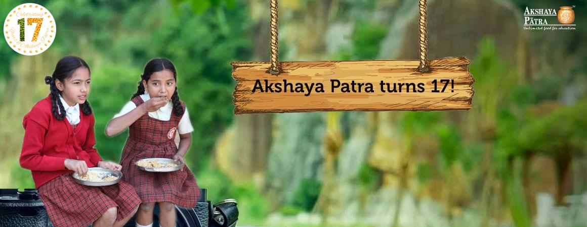 Akshaya Patra Turns 17