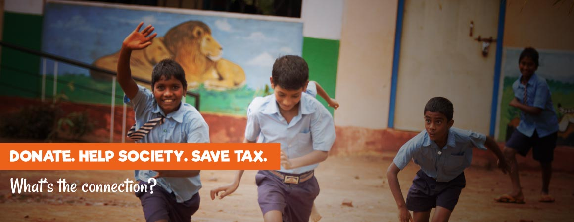 Donate and save tax