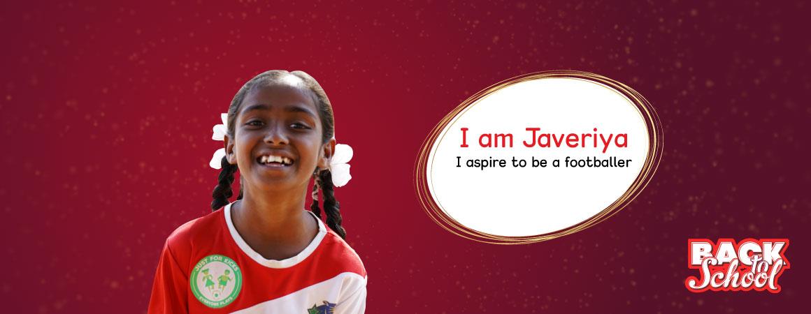 Javeriya – Back to school