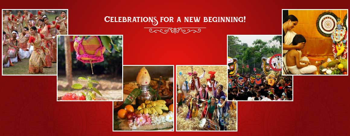 New Year Celebration in States of India