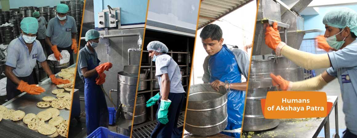 Humans of Akshaya Patra
