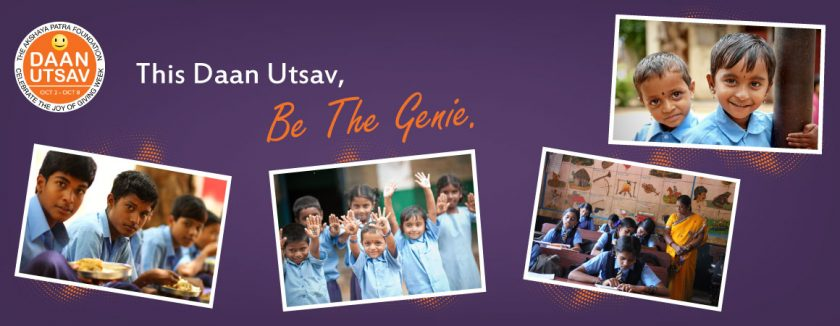 This Daan Utsav, Be The Genie