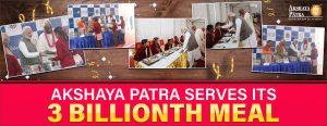 3 billion meals tapf