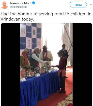 akshaya patra 3 billion meal