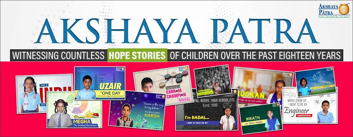 Akshaya patra hope stories