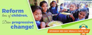 Sponsor mid-day meals in delhi ngo