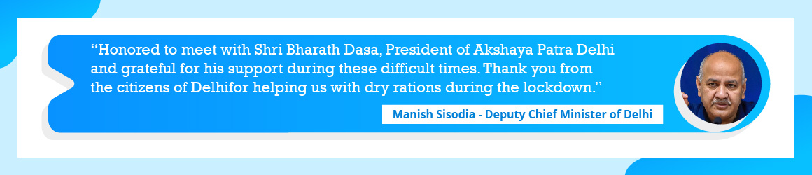 Manish Sisodia - Deputy Chief Minister of Delhi